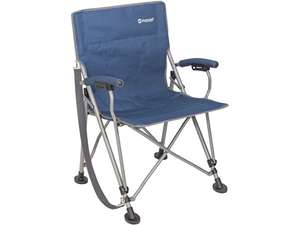 Chaise pliante camping/outdoor Outwell Perce - Bleue