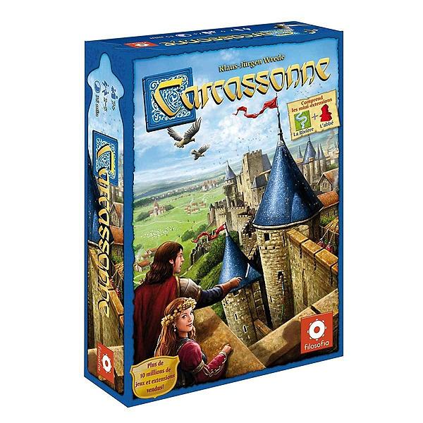 Sélection de jeux de société en promotion - Ex : Carcassonne