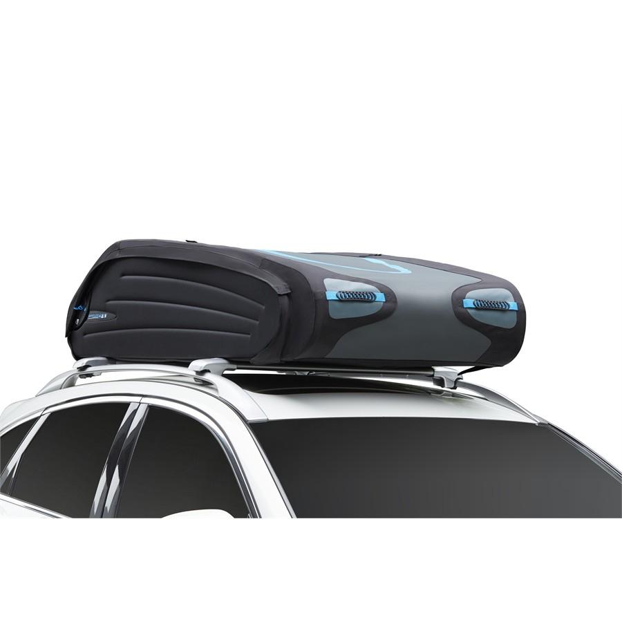 Coffre de toit pliant Norauto Bermude 5400 Flex - 540 L, noir