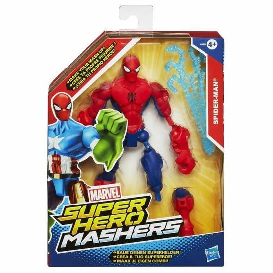 Figurine Hero Mashers Avengers - Spiderman Classic