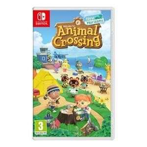 Jeu Animal Crossing: New Horizons sur Nintendo Switch (Dématérialisé)