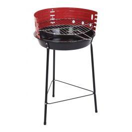 Barbecue à charbon C80215170 - 33cm, 4 personnes, Rouge