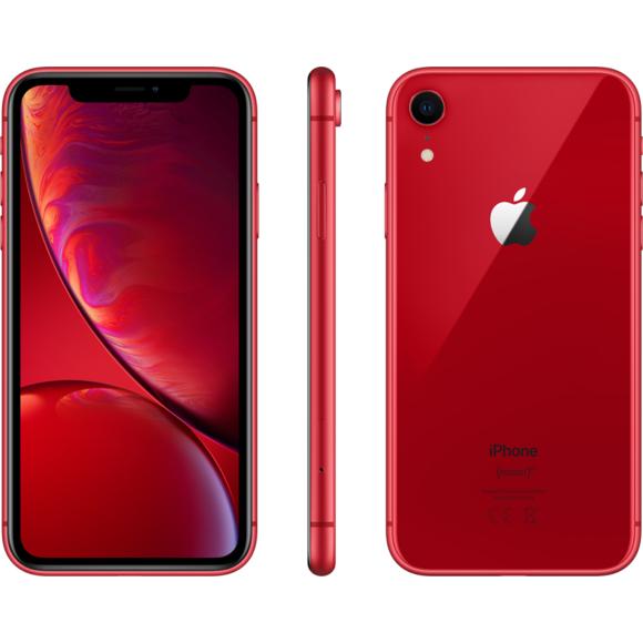"""Smartphone 5.8"""" Apple iPhone XR - 64 Go Rouge (Reconditionné très bon état, garantie 1 an)"""