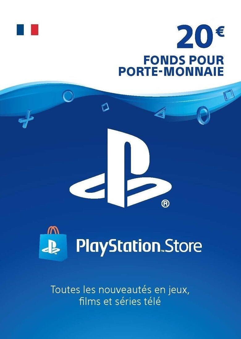Carte PlayStation Network d'une valeur de 20€ (Dématérialisé)