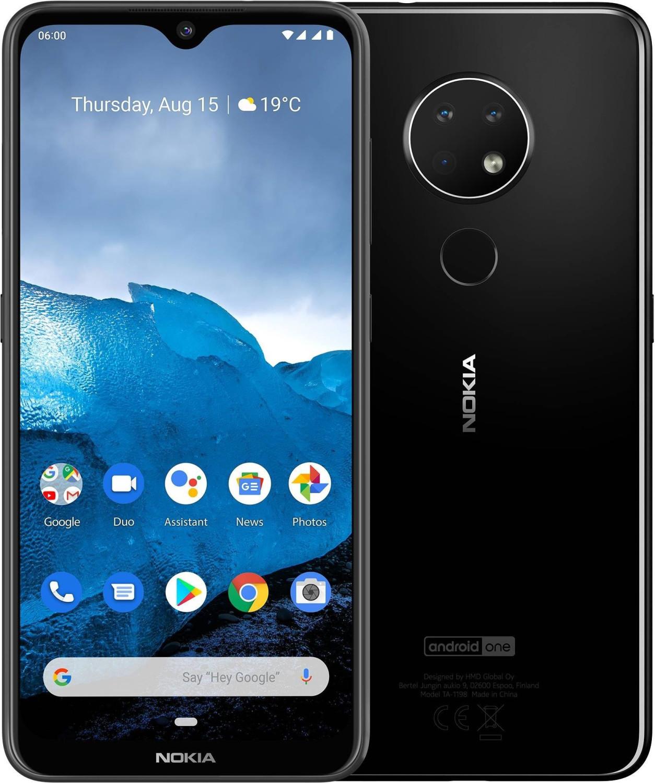 Smartphone Nokia 6.2 64Go + Forfait Free Mobile pendant 24 mois (Appels, SMS, MMS Illimités + 100 Go de DATA)