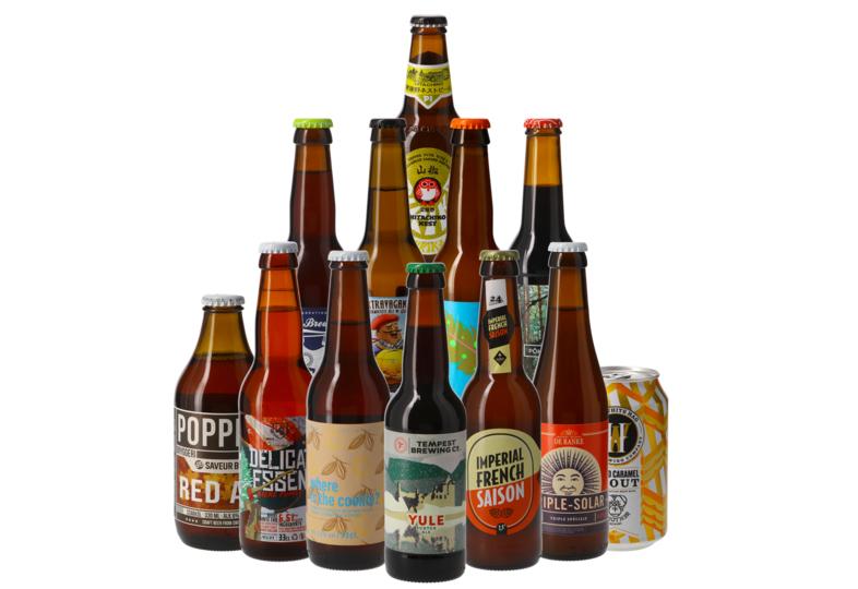 Assortiment de 12 bières exclusives