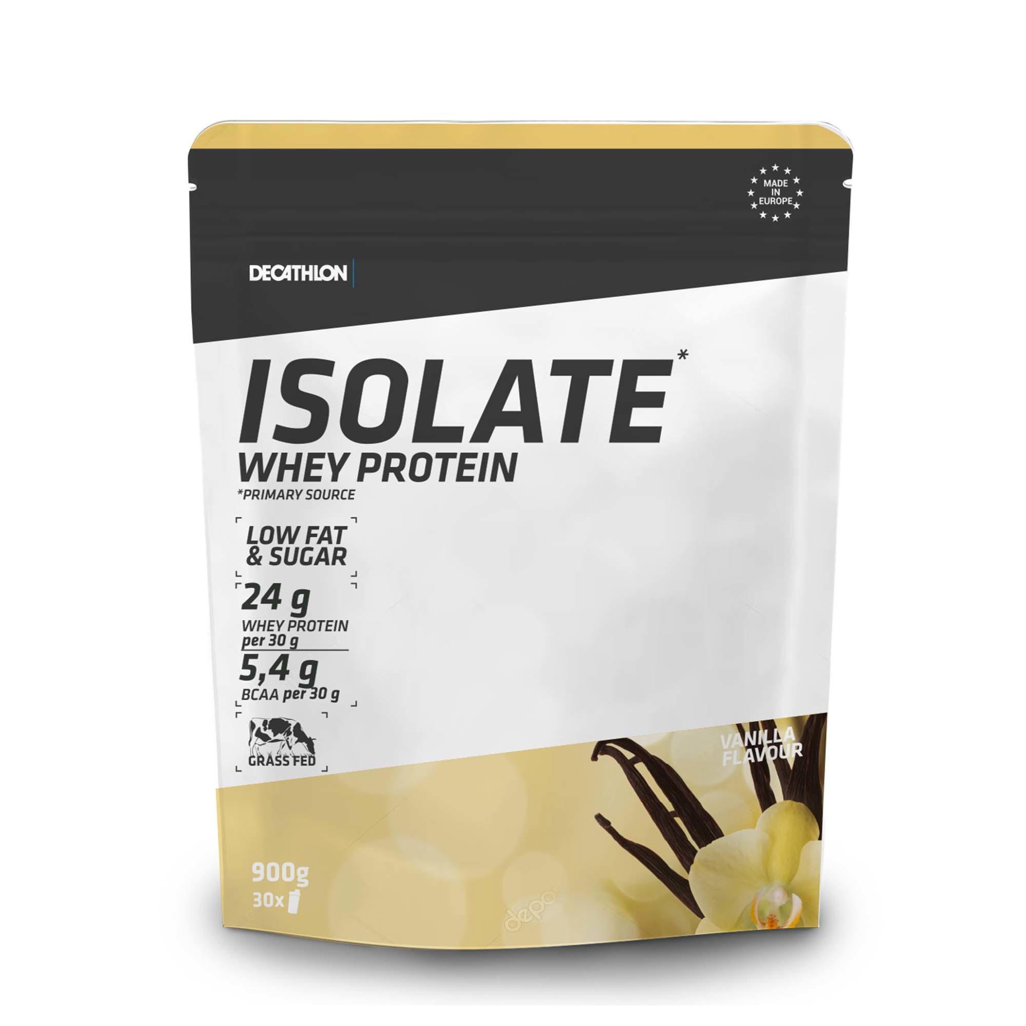 Protéines Domyos Whey Isolate Vanille - 900g