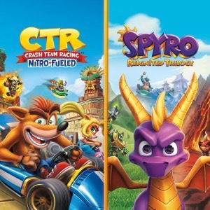 Pack Crash Team Racing Nitro-Fueled + Spyro Reignited Trilogy sur PS4 (Dématérialisé)