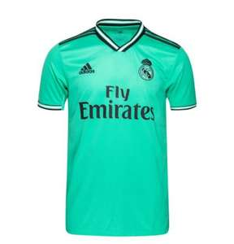 Sélection de Maillots de football en promotion - Ex : Maillot third Real Madrid 2019-2020 - Taille au Choix