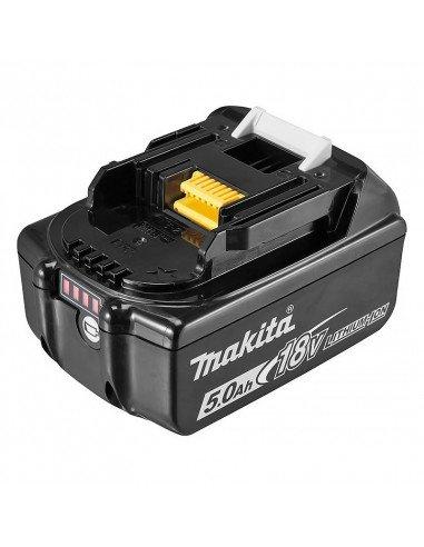 Batterie pour outil électrique Makita BL1850B - 5.0 Ah, 18 V, Li-ion