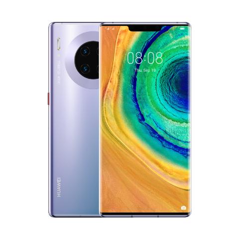 """Smartphone 6.53"""" Huawei Mate 30 Pro - 8 Go RAM, 256 Go (Sans Services Google)+ étui portefeuille intelligent mate 30 pro"""