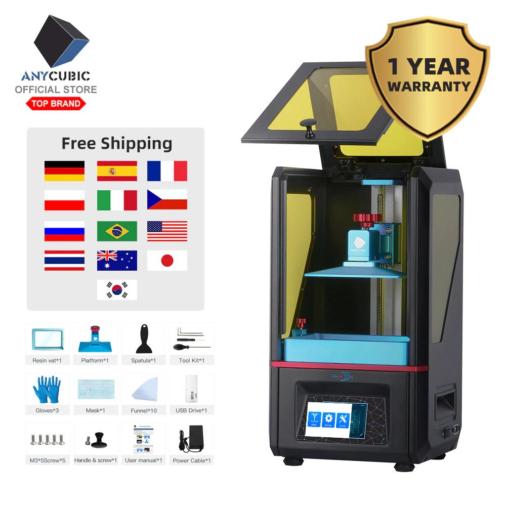 Imprimante 3D Anycubic Photon (Entrepôt FR)