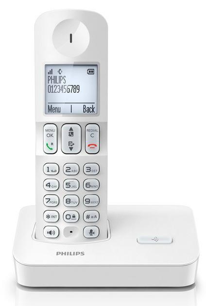 Téléphone sans fil Philips D4001