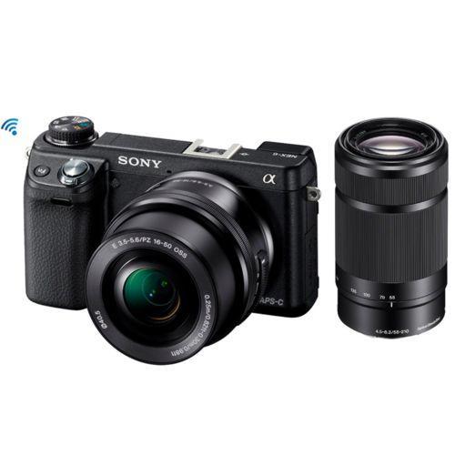 Appareil photo Hybride Sony A6000 + 2 objectifs (16-50mm et 55-210mm)