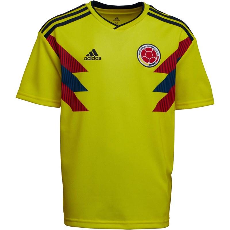 Maillot de football adidas FCF Colombie - Taille 9 à 14 ans
