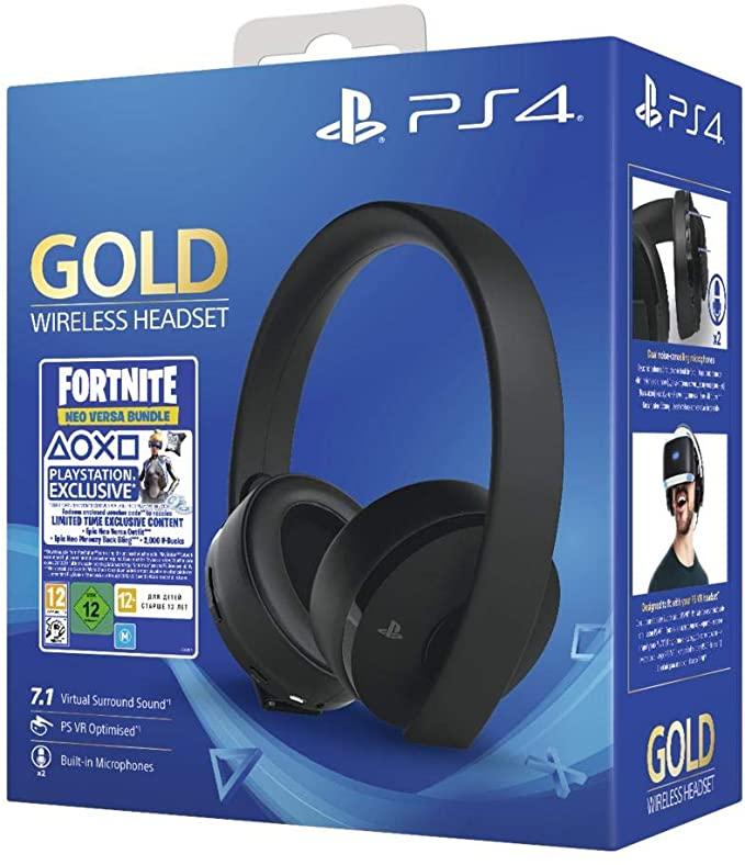 Casque-micro sans fil Sony PlayStation - Audio 3D, Édition Gold, Noir - Le Mans Chasse Royale (72)