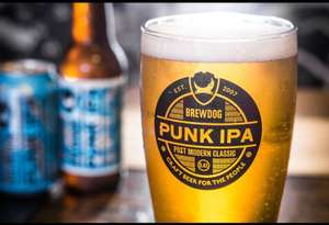 Une Pinte de Bière sans alcool Punk AF offerte à la fin du confinement dans un pub BrewDog à Nice (06) ou Paris (75)