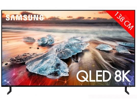 """TV 55"""" Samsung QE55Q950R - QLED, 8K, 100 Hz, HDR 3000, Smart TV (Via ODR 512.80€)"""