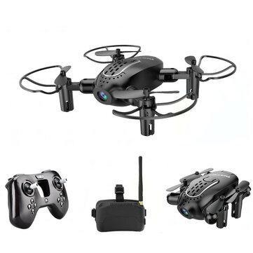 Mini-drone quadricoptère pliable Realacc R11 - 5.8 G, 6 axes, caméra 720p, Mode 2 à 10.71€ ou avec lunettes FPV à 24.02€