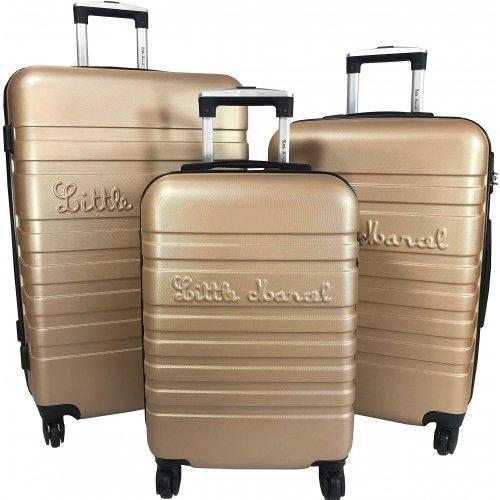 Sélection de valises en promotion - Ex: Lot 3 Valises Rigides dont 1 Valise Cabine Little Marcel ABS