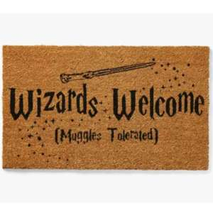 Paillasson Harry Potter - Wizards Welcome