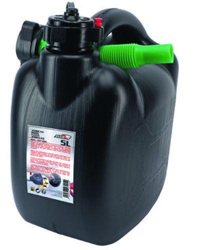 Jerrican à carburant avec bec verseur et système anti-retours - 5 L