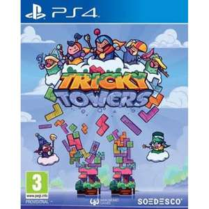 Tricky Towers sur PS4