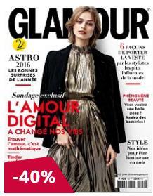 1 an d'abonnement au  magazine Glamour (10 numéros)