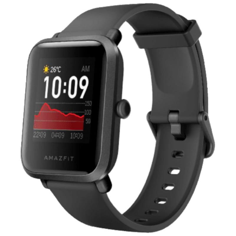 """Montre connectée Xiaomi Amazfit Bip S - Ecran 1.28"""", Batterie 200 mAh / Autonomie 40 jours, GPS, 5ATM (Noir, Blanc ou Rose)"""
