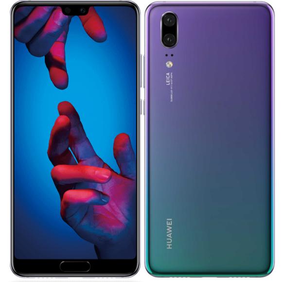 """Smartphone 5.84"""" Huawei P20 - 128 Go, coloris au choix (Reconditionné - Très bon état)"""