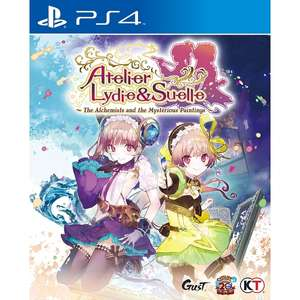 Atelier Lydie & Suelle The Alchemists And The Mysterious Paintings sur PS4