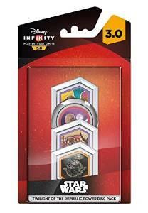 Disney Infinity 3.0 - Pack de 4 Power Discs : Twilight of the Republic