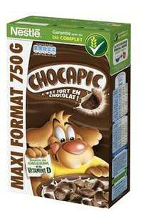 Paquet de Céréales chocapic nestlé - 750g (avec 2.09€ sur la carte et via BDR)