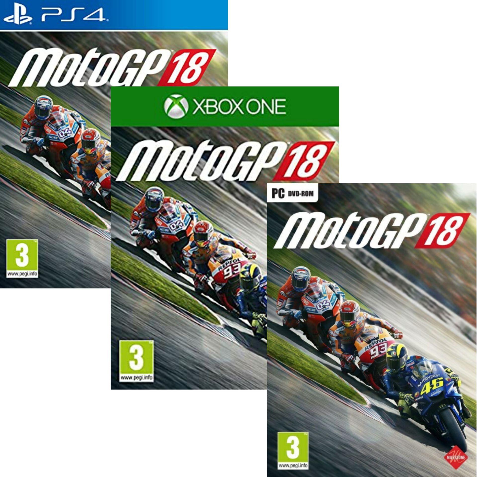 MotoGP 18 sur PC, PS4 et Xbox One