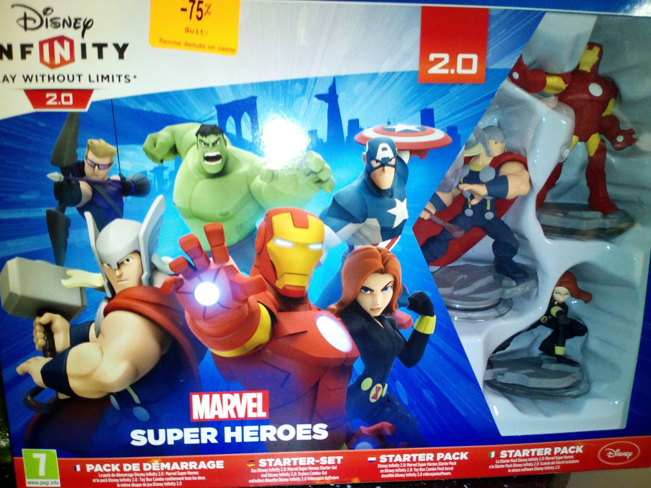 Disney infinity 2.0 sur ps4 / Xbox one et Wii U