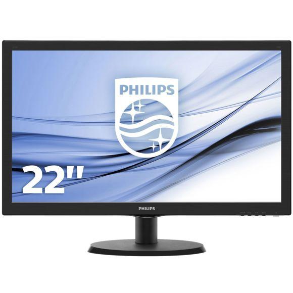 """Ecran PC LED 21,5"""" Philips 223V5LSB2/10 - Full HD, 5ms"""