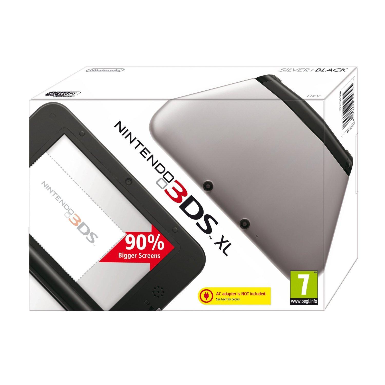 Console Nintendo 3DS XL - Rose ou Noir/Argent