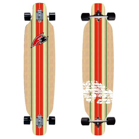 Super Longboard F2 en Bois