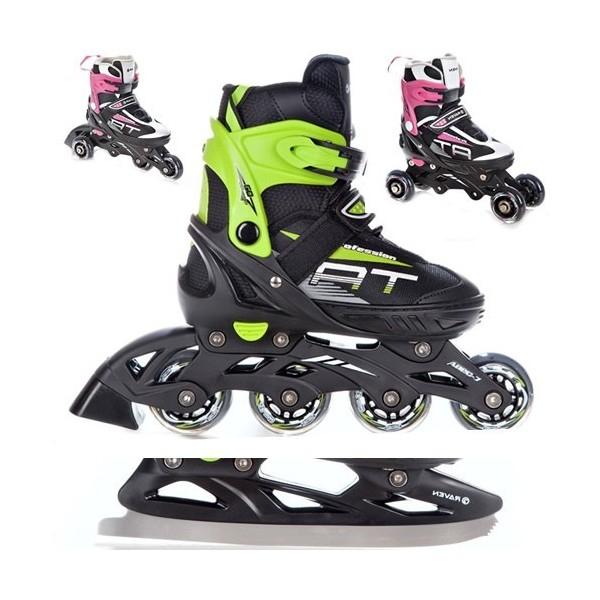 10€ de réduction dès 50€ d'achat et 20€ de réduction dès 100€ d'achats sur les Rollers 4 en 1 et accessoires (snowboardpascher.com)