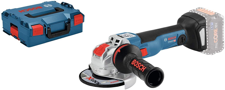 Meuleuse Angulaire Sans-Fil Bosch Professional X-Lock GWX 18 V-10 C + Coffret L-Boxx (Sans Batterie)