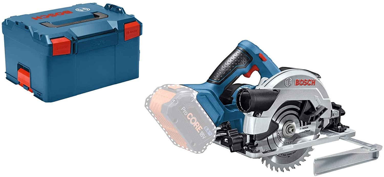 Scie circulaire sans fil Bosch Professional 18V GKS 18V-57 G en L-BOXX ( sans batterie, ni chargeur)