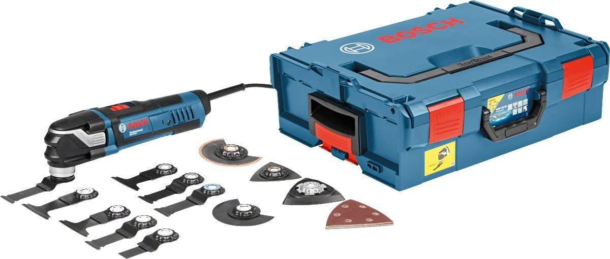 Coffret découpeur-ponceur Bosch Professional GOP 40-30 - 400 W, avec set d'accessoires