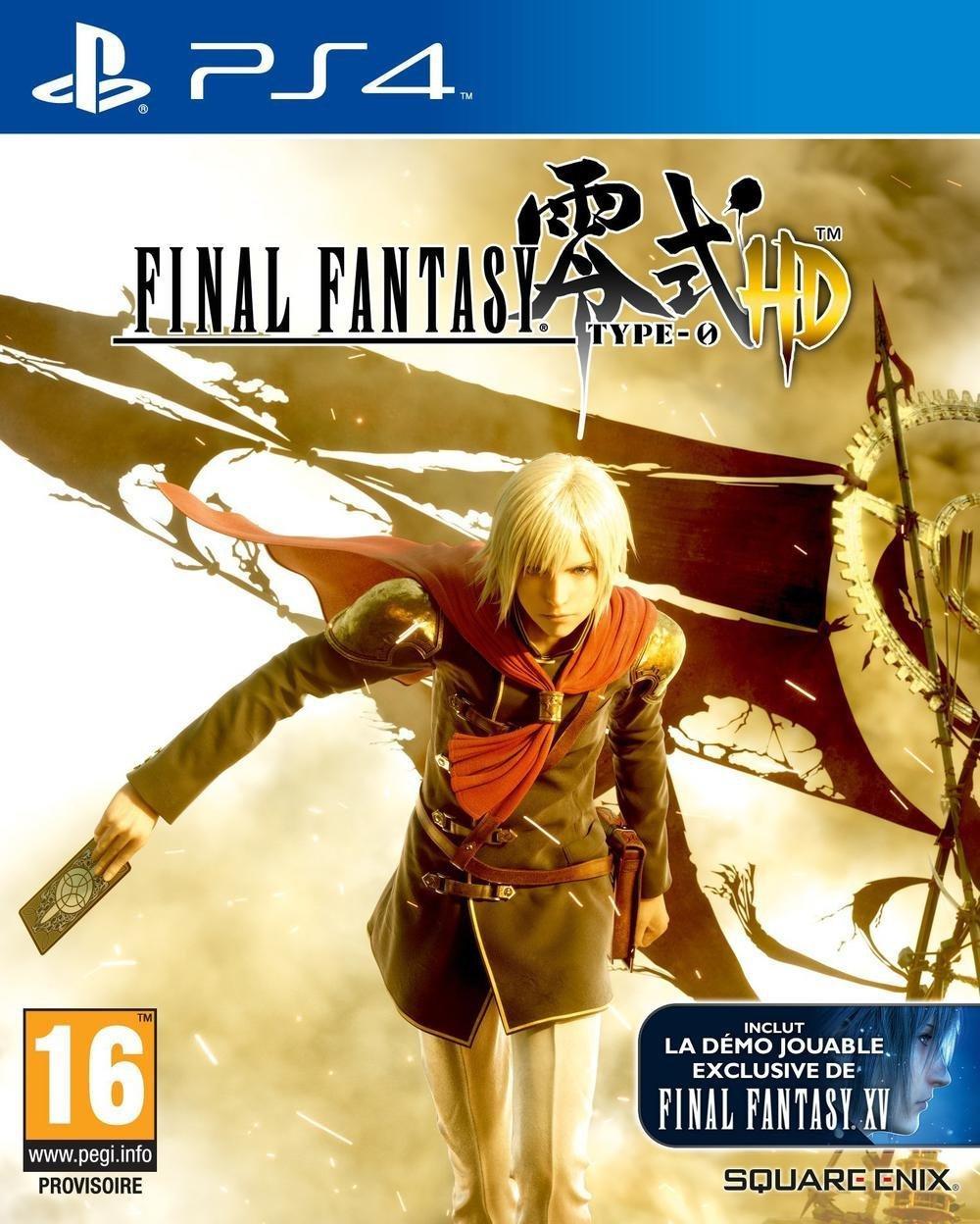 Final Fantasy Type 0 HD sur PS4