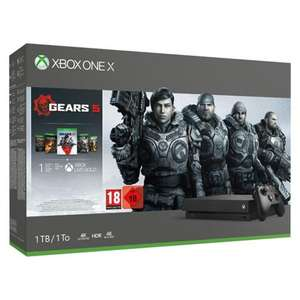 Pack Console Microsoft Xbox One X (1 To) + Gears 5 + Gears of War 2, 3 et 4