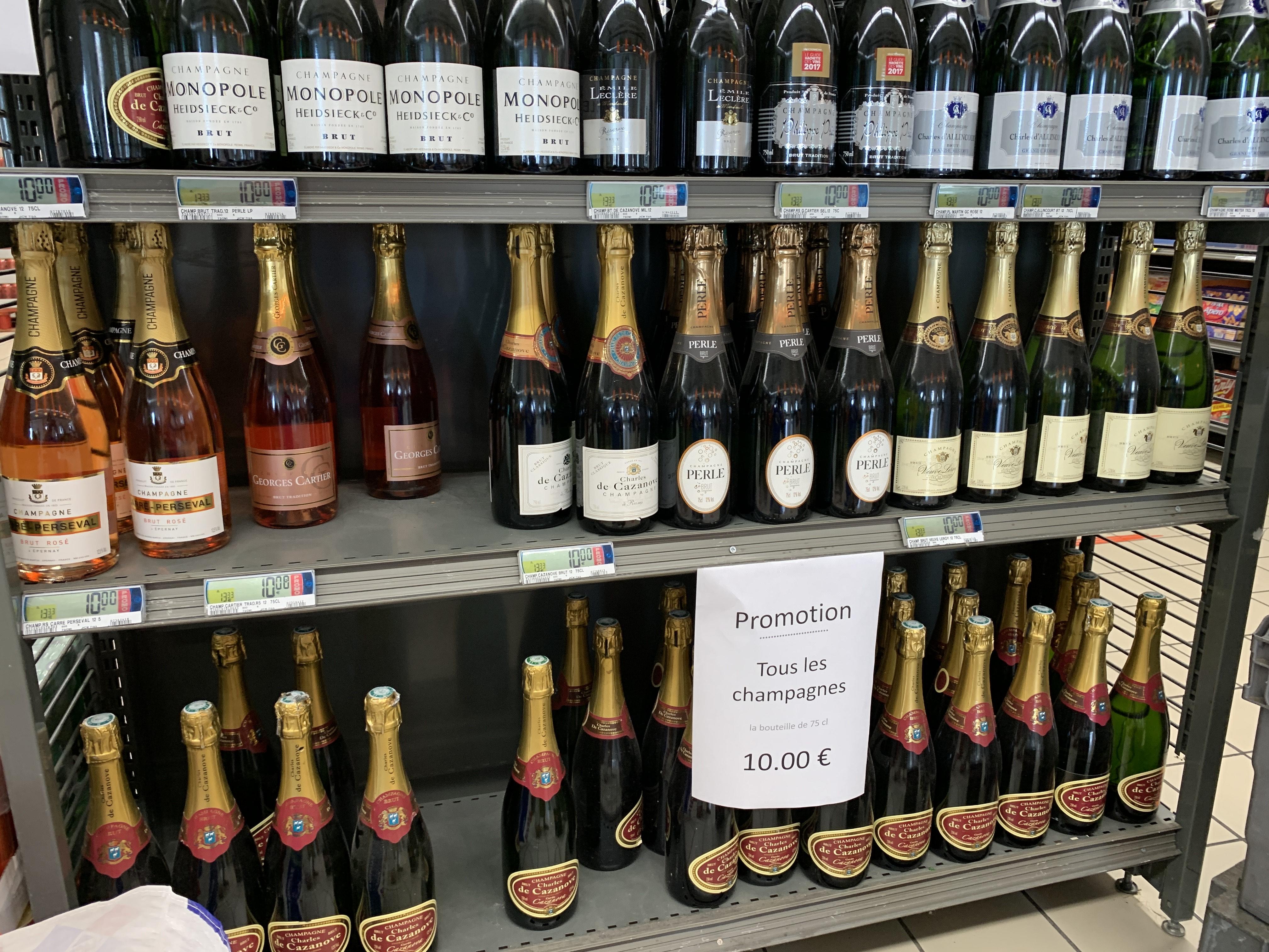 Toutes les Bouteilles de Champagne 75cl à 10€ - Toulouse (31)