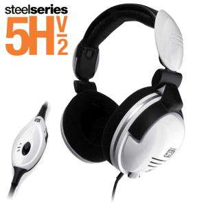 Steelseries 5H V2 casque Blanc