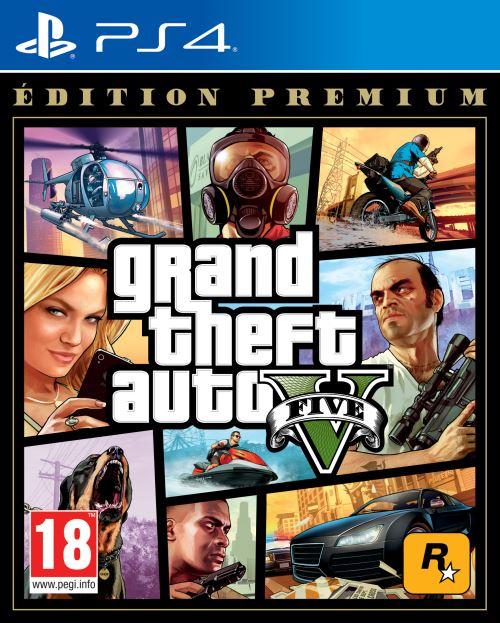 Grand Theft Auto V (GTA 5) - Édition Premium Online sur PS4 et Xbox One