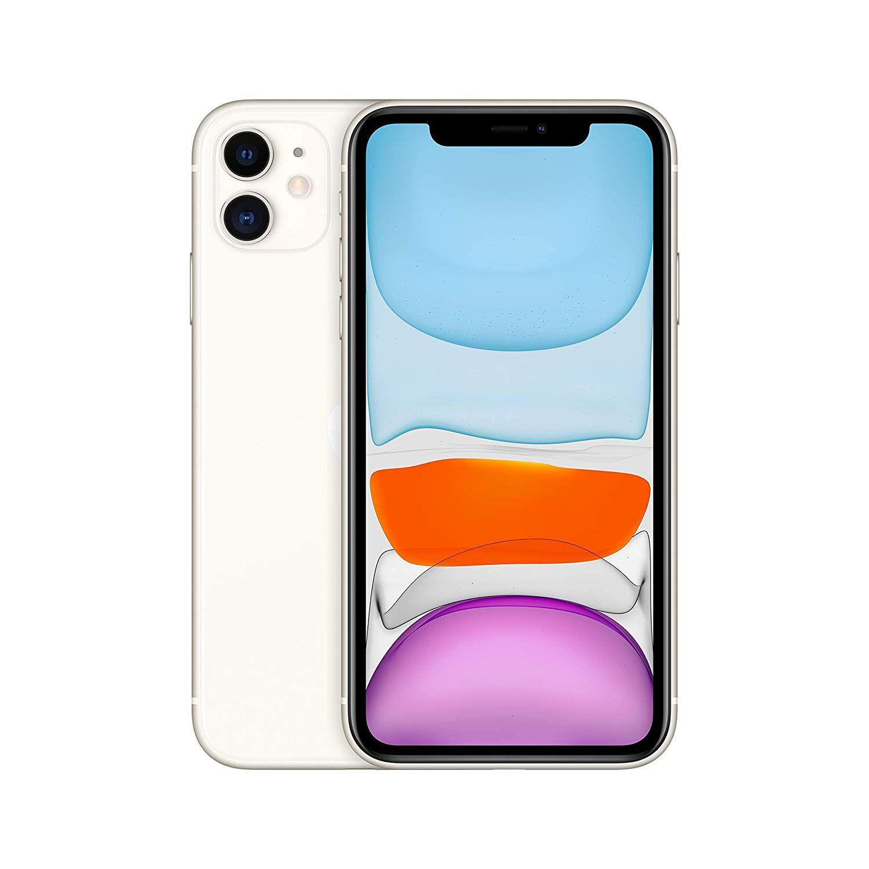 "Smartphone 6.1"" Apple iPhone 11 - 128 Go, Blanc (+37.65€ en SuperPoints)"