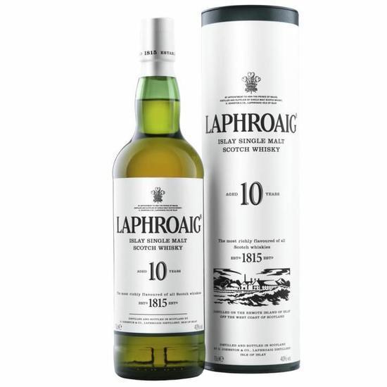 Whisky Single Malt Laphroaig (10 ans)