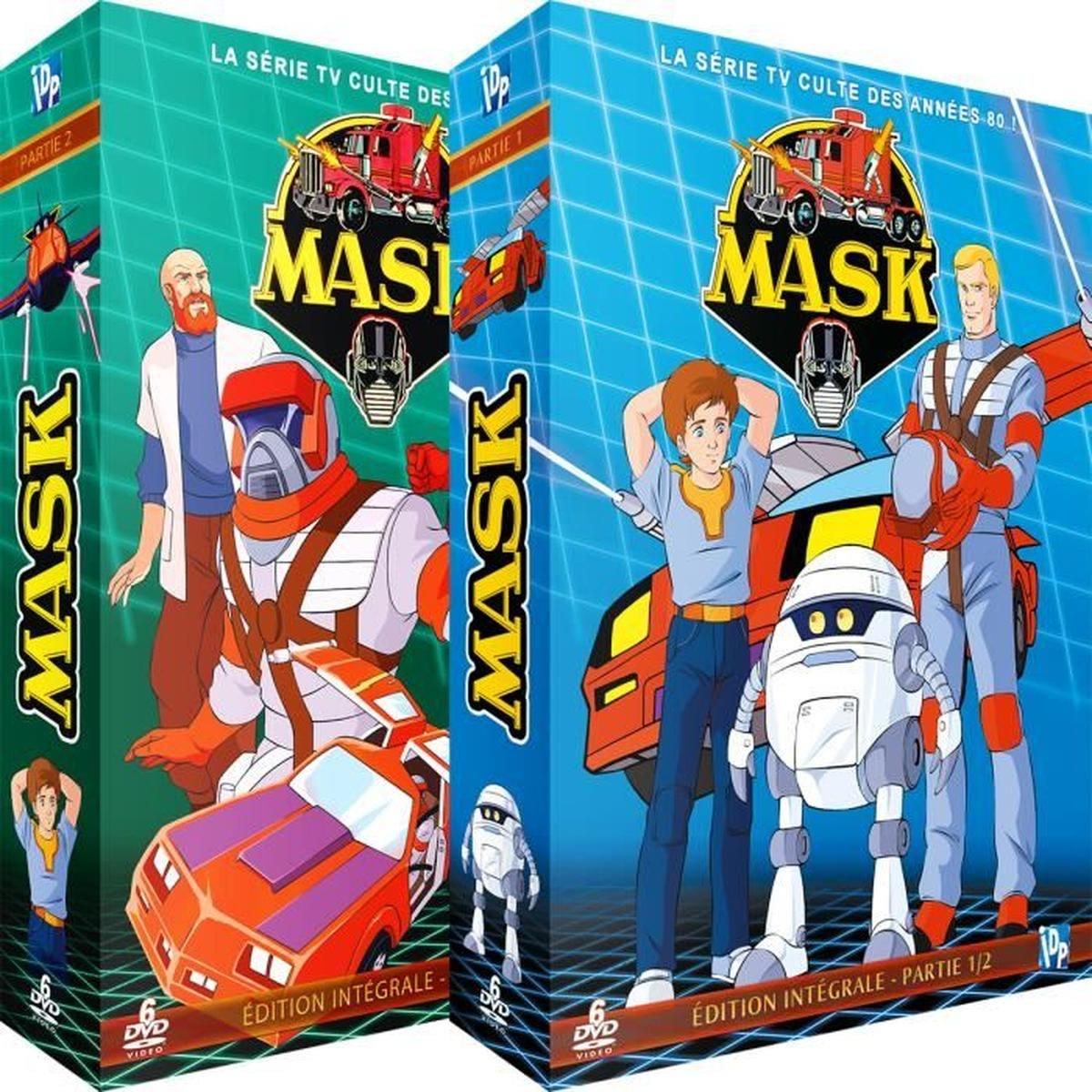 Coffret DVD Intégrale Mask (Dessin animé)